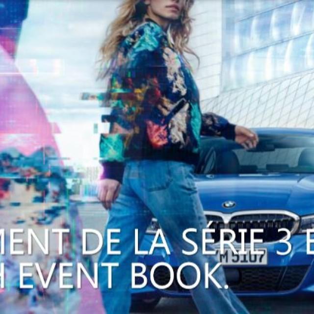 Lancement Serie 3 BMW